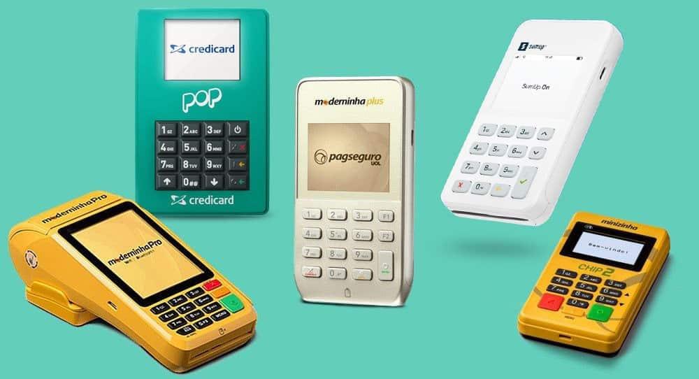 Maquininhas de cartão para micro empresas