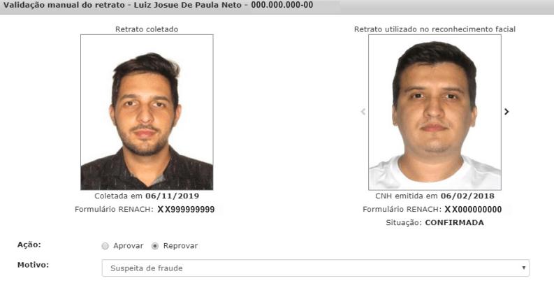 DETRAN MG passa a usar tecnologia de reconhecimento facial pra evitar fraudes