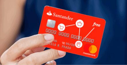 Santander Free: conheça o cartão de crédito sem anuidade do Santander