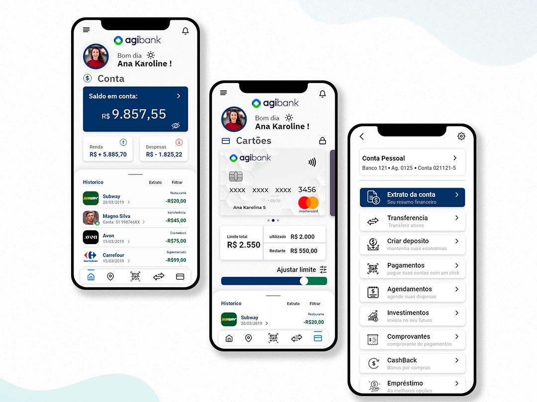 Agibank aposta em App focado nas necessidades do cliente