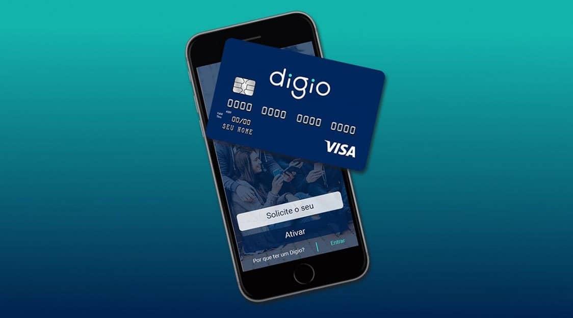 Cartão Digio: pedido e gerenciamento virtual