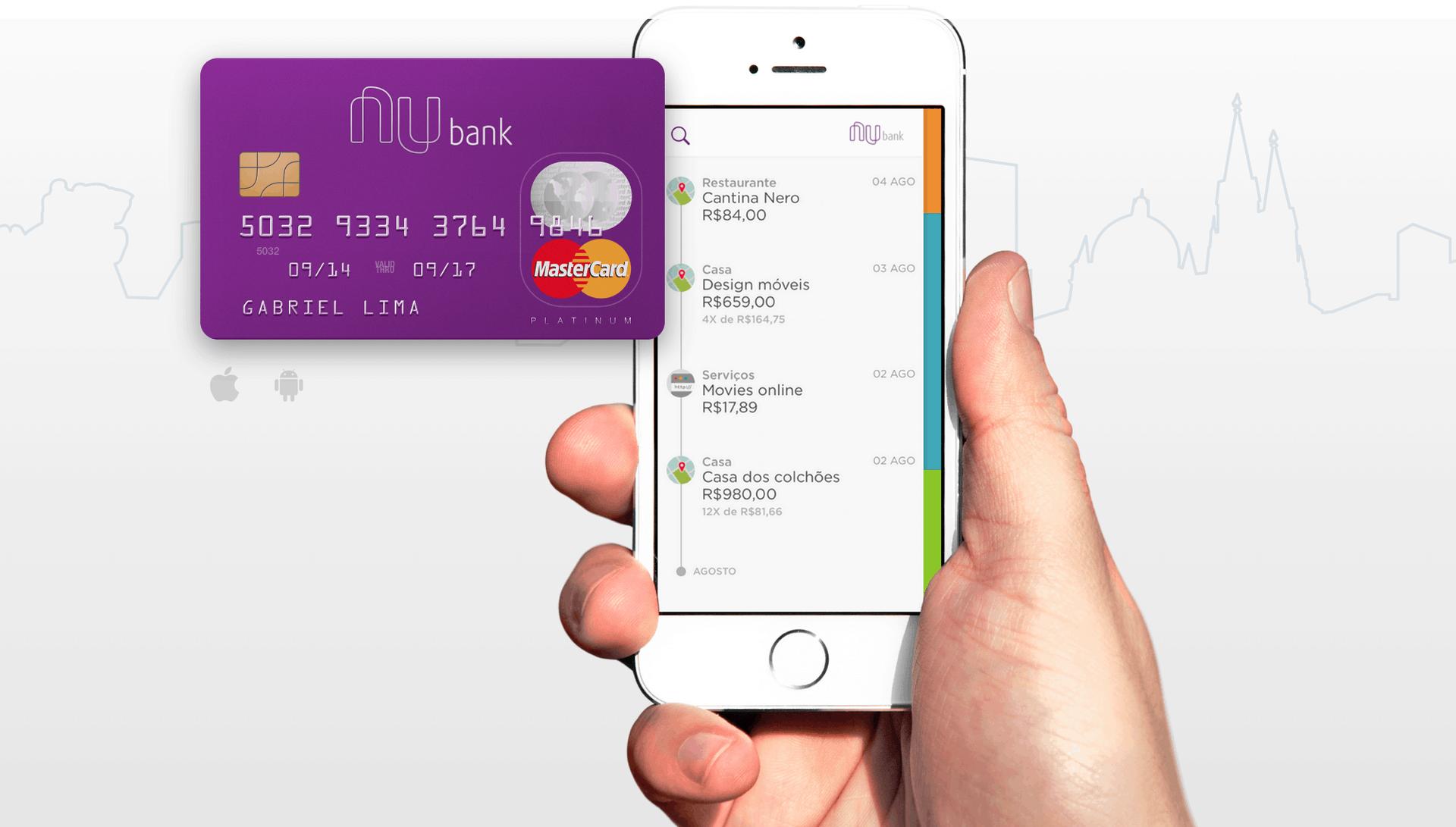Atrasou pagamento do empréstimo Nubank? Negocie usando o seu app