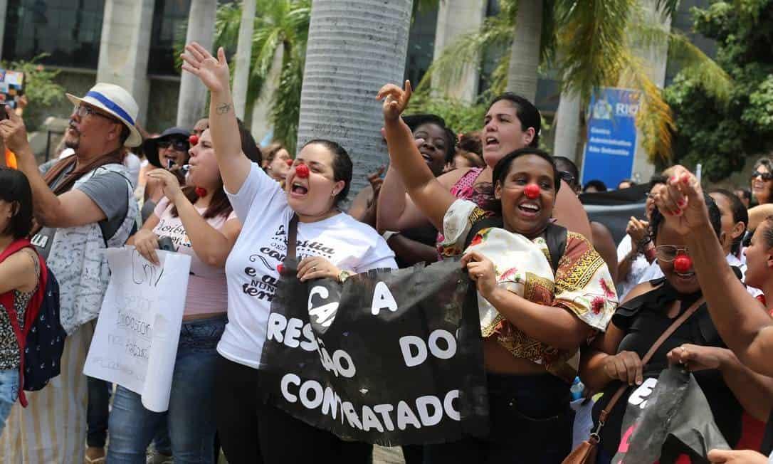 Suspensão nos pagamentos do Rio de Janeiro geram protestos
