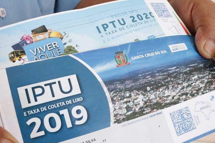IPTU de Santa Cruz 2020: prazo para desconto está chegando ao fim