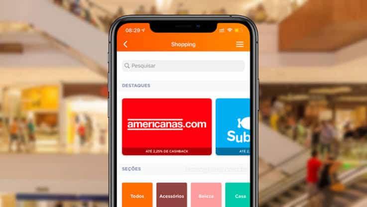 Super App Banco Inter: cashback e grandes marcas