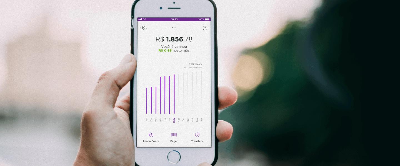 Nubank ganha título de melhor aplicativo financeiro