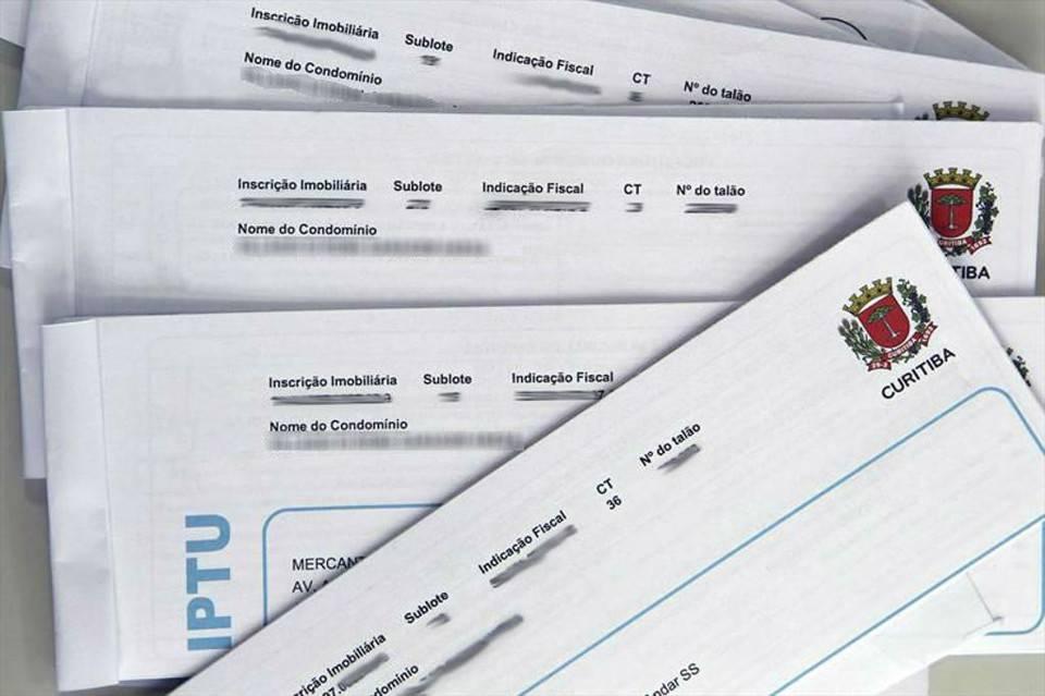 IPTU Curitiba 2020: autorizada emissão do boleto na internet
