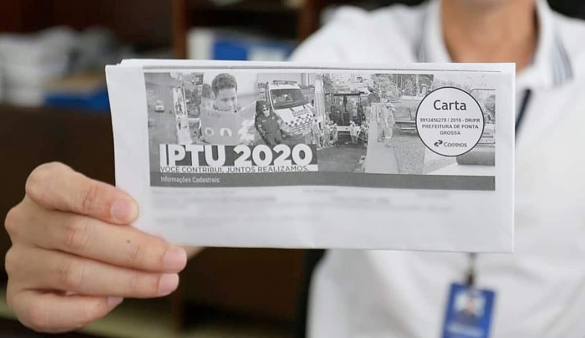 IPTU 2020: carnês são distribuídos no Vale da Paraíba