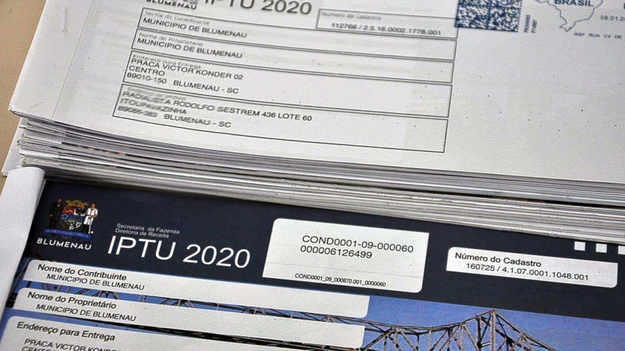 IPTU Blumenau 2020: primeiro vencimento acontece nesta semana (Imagem: Reprodução - Google)