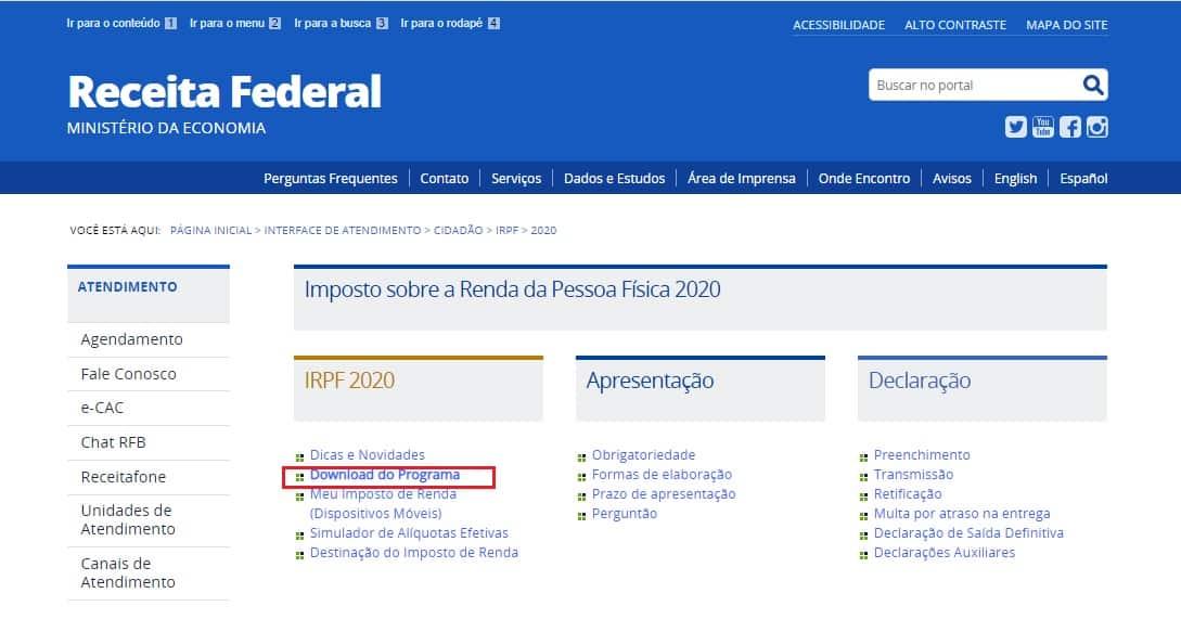 IRPF 2020 começa a ser entregue na segunda-feira com novas regras (Imagem: Reprodução - Google)