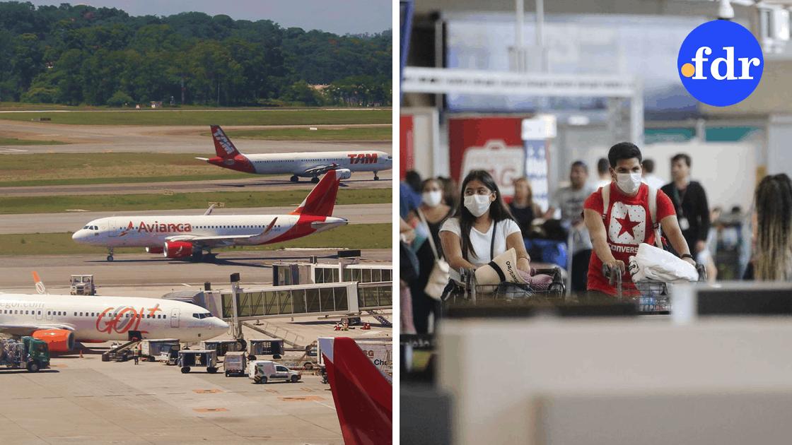 Empresas aéreas internacionais já têm data para retomar voos no Brasil (Montagem/FDR)