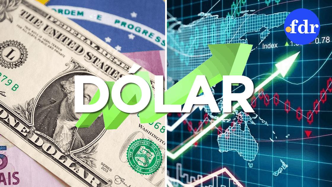 Dólar inicia semana com alta e vale R$5,47; Bolsa tem queda de 1%