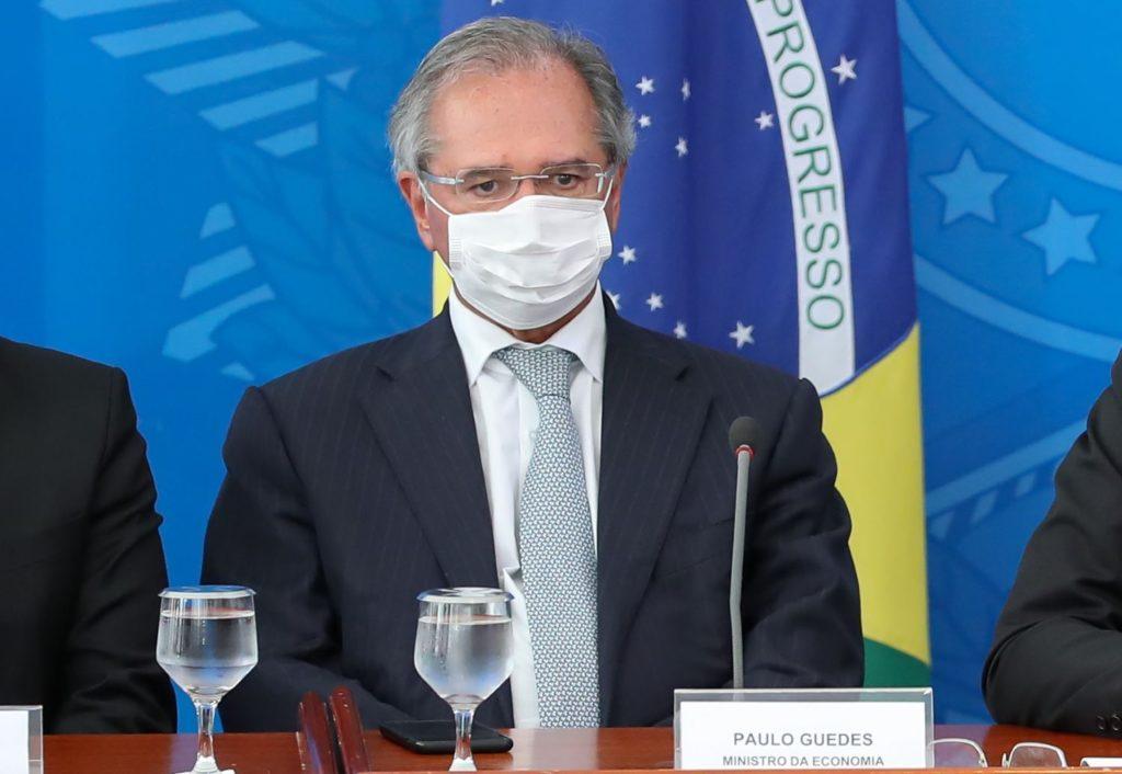 Guedes fala sobre auxílio emergencial de R$200 em fim gradativo do benefício (Reprodução/Internet)