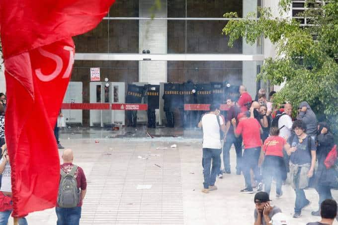 Nova Previdência de São Paulo é aprovada em cenário de confusão (Foto: PABLO WASHINGTON /PHOTOPRESS/Estadão Conteúdo)