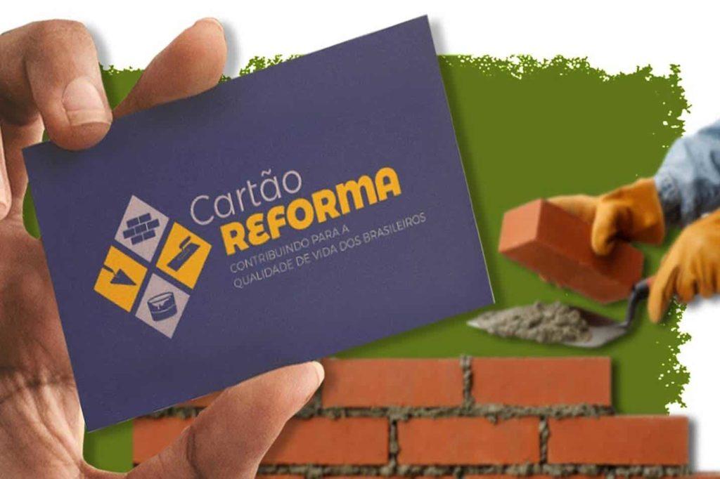 Cartão Reforma não vingou e atendeu número mínimo de pessoas