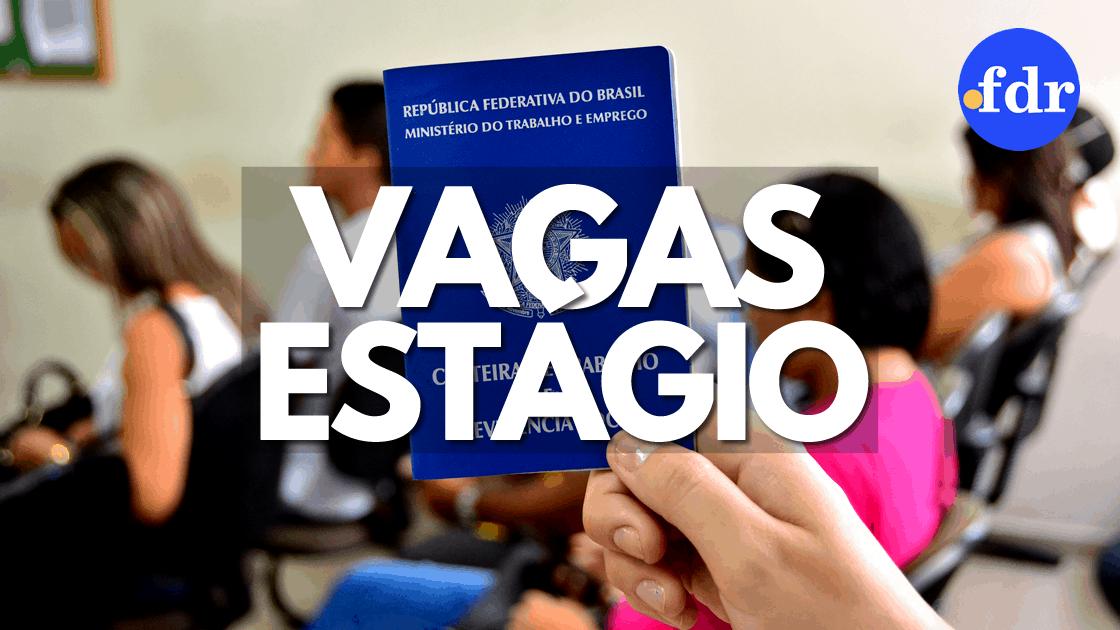 VAGAS DE ESTÁGIO: Lista com oportunidades no Oeste Paulista