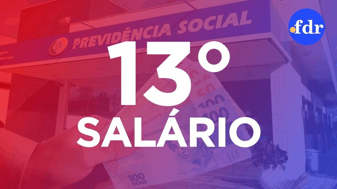 13° do INSS libera pagamento no dia 24; saiba quem recebe! (Montagem/FDR)