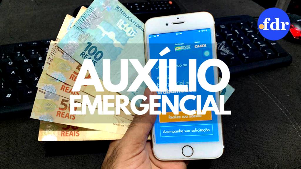 Caixa atualiza pedido do auxílio emergencial para mais 9 milhões de pessoas (Montagem/FDR)