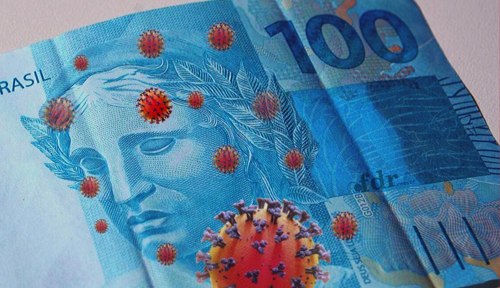 'Coronavoucher': Evite filas! Saiba como sacar R$600 online (Montagem/FDR)