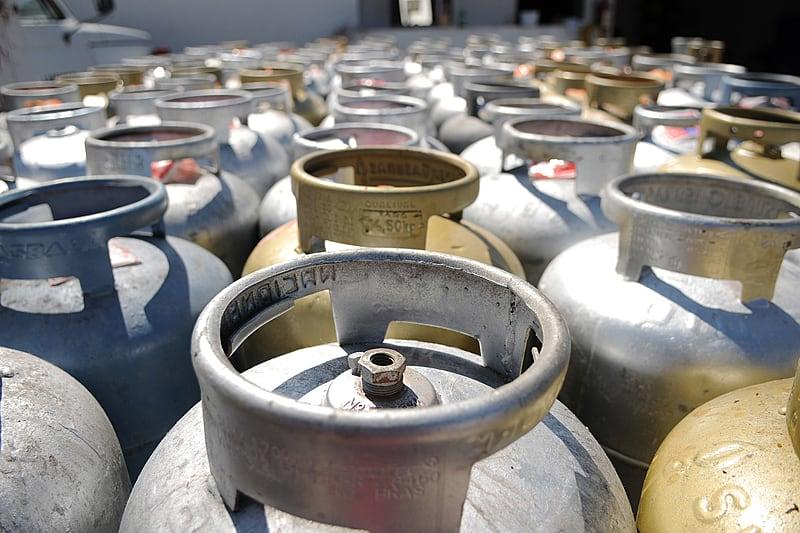 Gás de cozinha sobe valor em 5% a partir desta quinta-feira