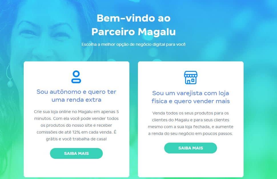 Como se tornar um parceiro da Magazine Luiza e vender on-line (Imagem: Reprodução - Google)