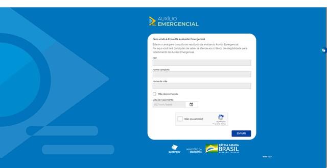 Site do Dataprev abre consulta do auxílio emergencial; veja como fazer!