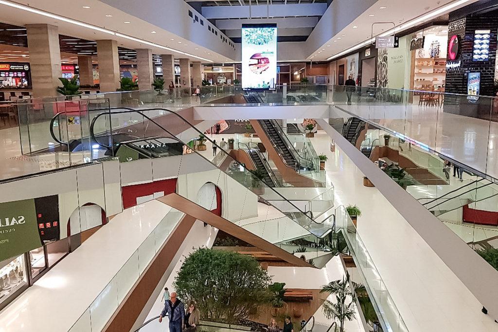 Shoppings VOLTAM a funcionar tomando medidas de precaução e corte de serviços (Reprodução/Internet)