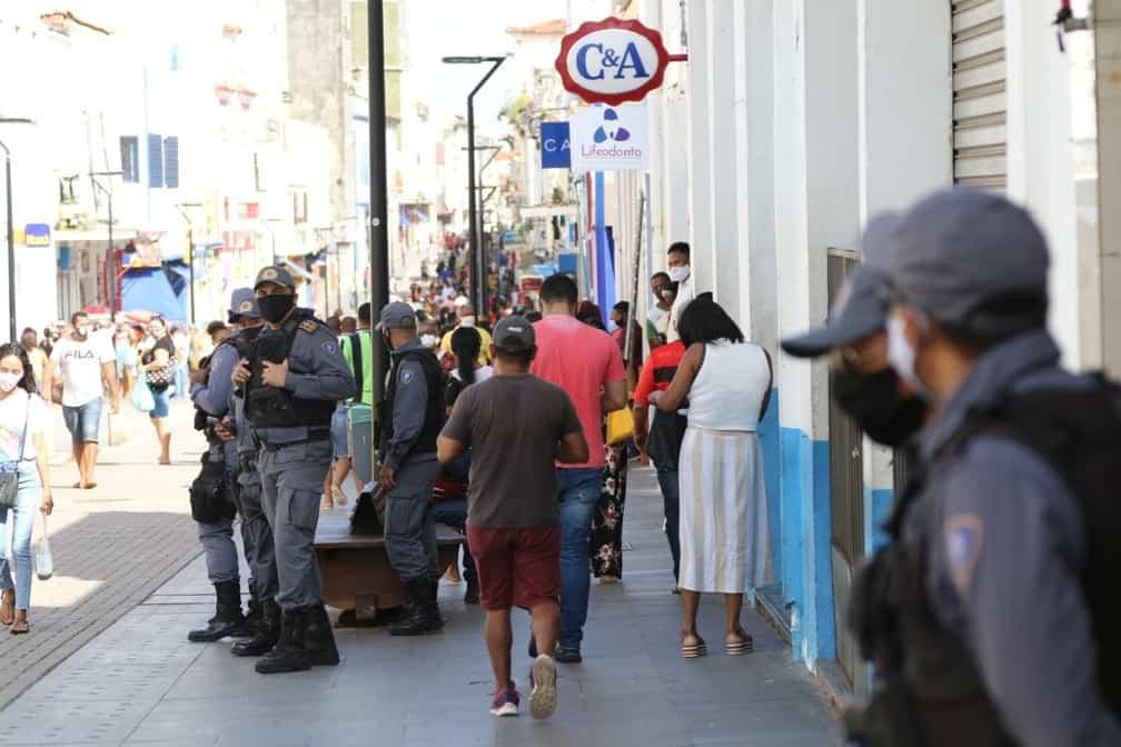 São Luís (MA) reabre os comércios e primeiro dia traz lotação nas ruas (Foto/Adriano Soares/Grupo Mirante)