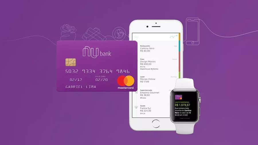 Cartão virtual Nubank: conheça as funções, e quem pode usar! (Reprodução/Nubank)