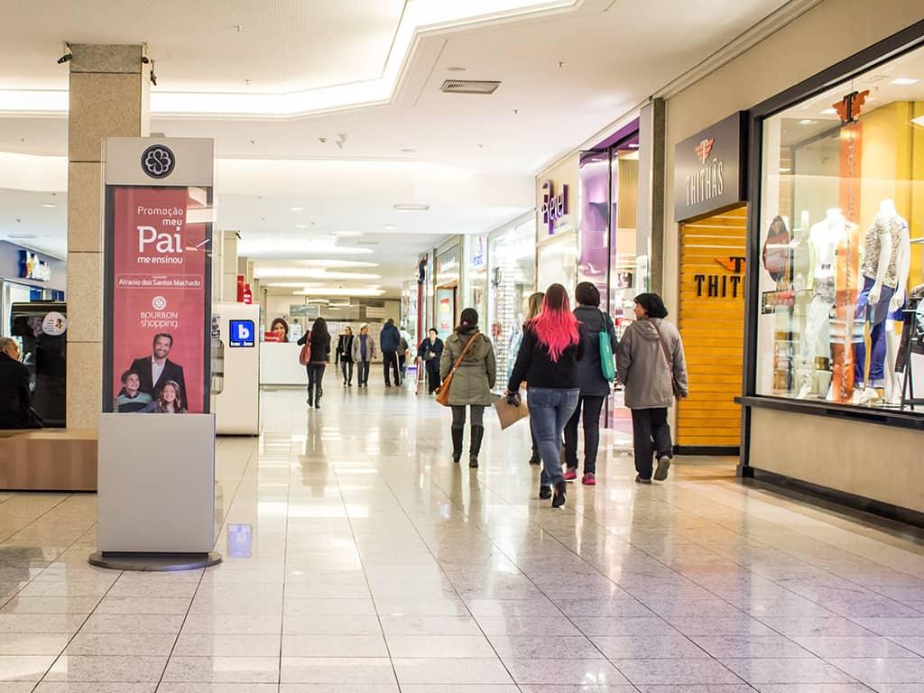 Vendas dos shoppings ficam abaixo do esperado no pós quarentena
