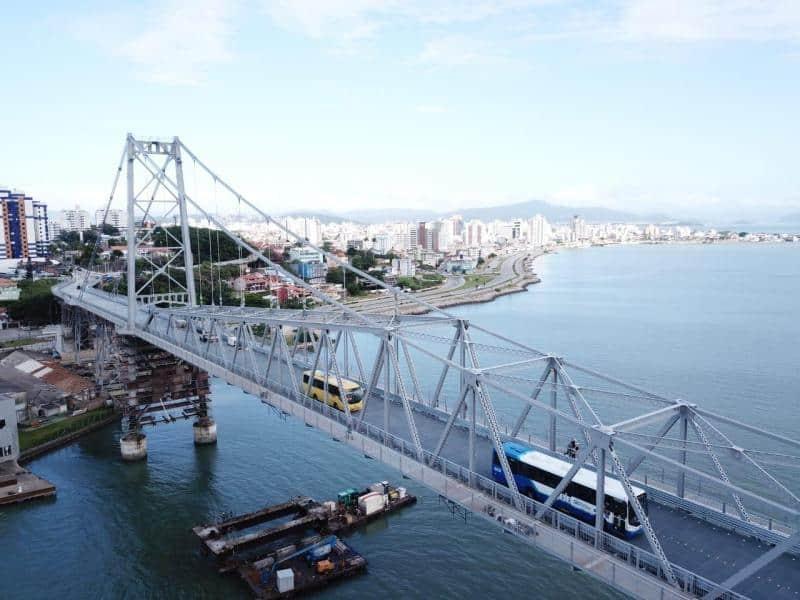 Florianópolis se torna exemplo de combate ao Covid-19 sem registro de mortes há 1 mês (Imagem: Reprodução - Google)