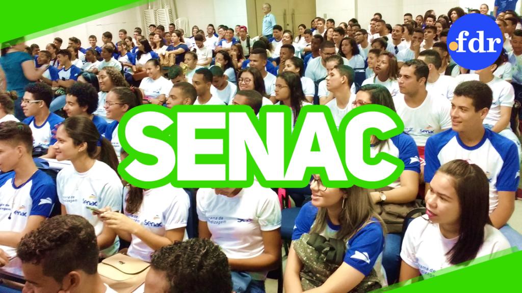 Senac-PE abre 850 vagas para cursos de capacitação gratuitos