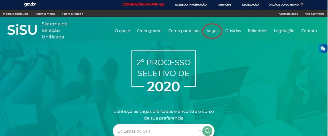 MEC libera consulta de vagas do SISU 2020.2; veja como buscar cursos e universidades