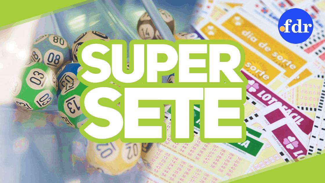 Super Sete sorteia R$ 750.000 no concurso que corre sexta-feira (9)