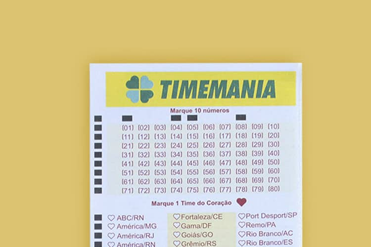 Timemania ACUMULOU! Novo prêmio vai pagar R$8 milhões