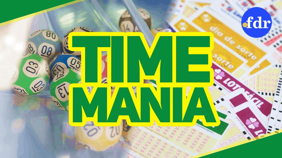 Timemania 1529 sorteia prêmio de R$1 milhão no concurso de hoje (27)