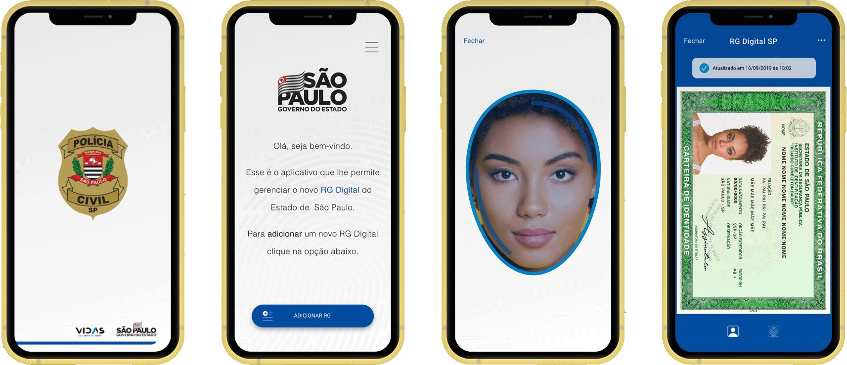 RG Digital: Governo de São Paulo lança no aplicativo para facilitar acesso ao documento