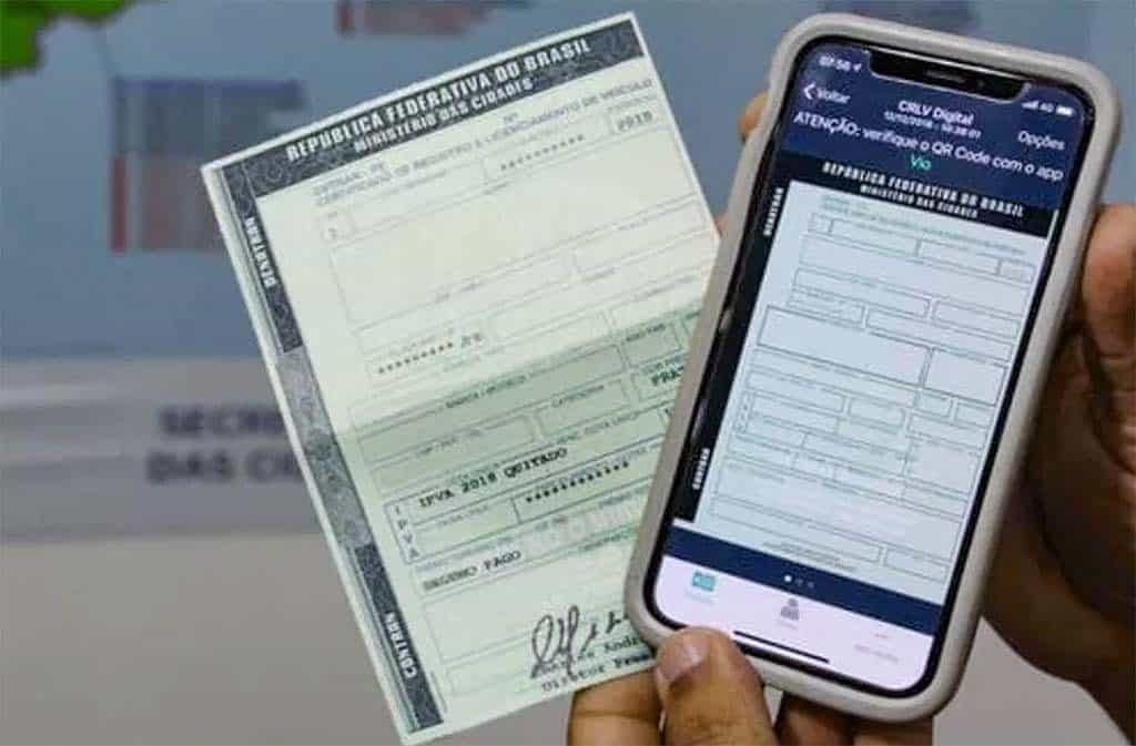 CRLV Digital está disponível para todo o estado do RJ gratuitamente; veja como acessar (Imagem: Reprodução - Google)
