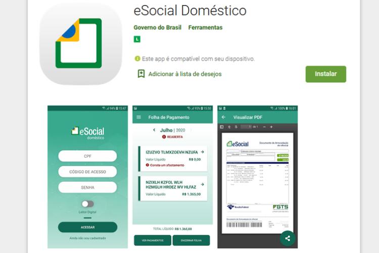 eSocial Doméstico: Conheça aplicativo do Simples Nacional para cadastrar seu funcionário