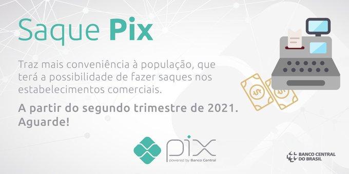 Banco Central afirmou que disponibilizar o sistema Pix ao público em março de 2020