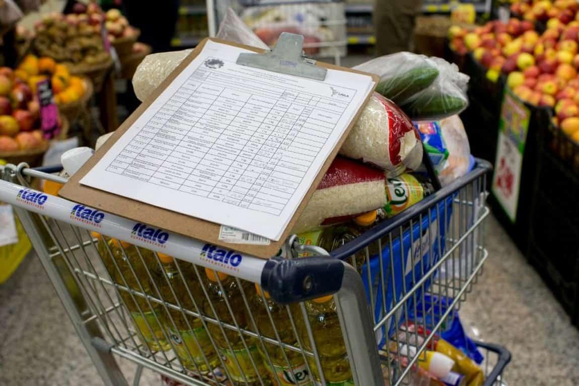 Valor da cesta básica sobe e auxílio emergencial cai; como conciliar valores? (Imagem: Reprodução/JC)