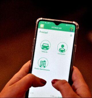 App Detran-MS autoriza condutor a fazer renovação online da CNH