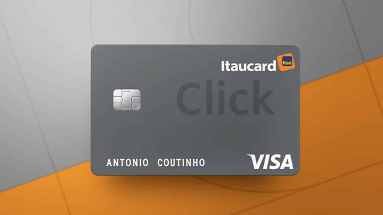 Itaú: Conheça o cartão Click Platinum que concede limite de R$1.000 e não cobra anuidade