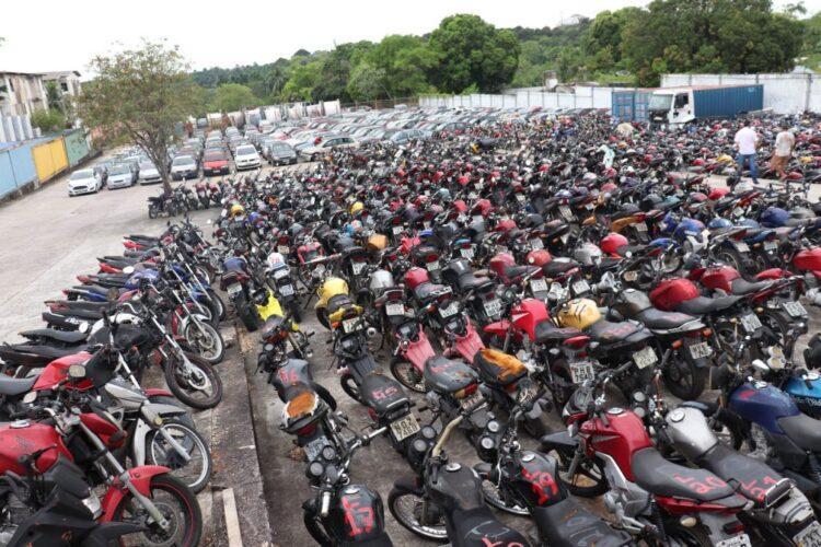 Leilão do Detran-PE tem 421 veículos disponíveis para venda hoje (13)