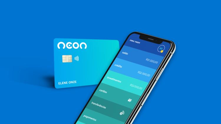 Neon oferece cartão de crédito sem cobrança de taxas e anuidade
