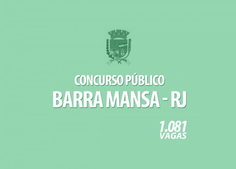 Concurso de Barra Mansa tem inscrições prorrogadas até 12 de outubro