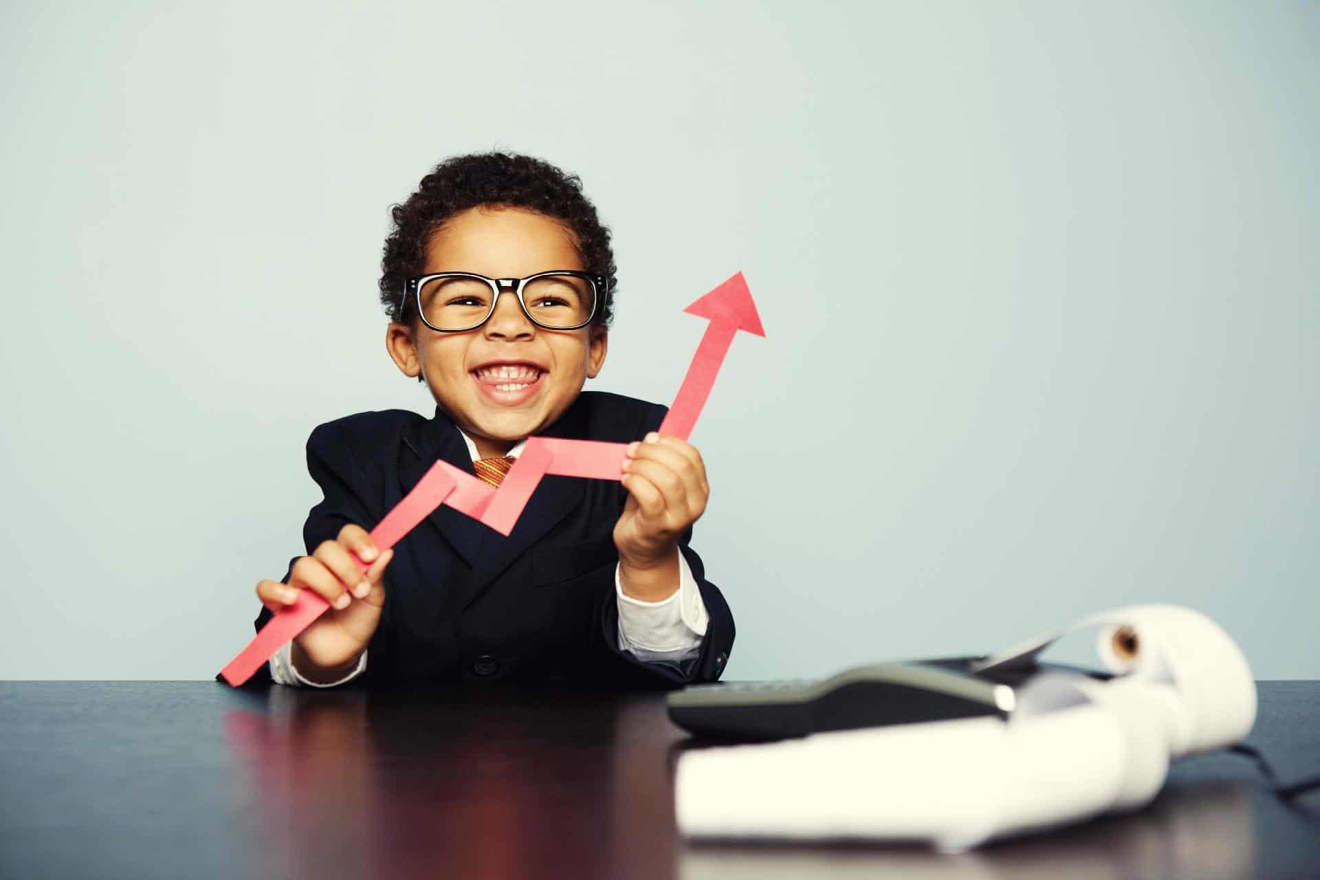 Monte uma carteira ideal para as crianças pelo programa 'Meu Filho Investidor'