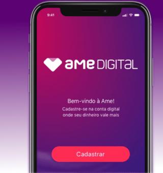 Ame Digital libera até R$50 mil para clientes por meio do aplicativo