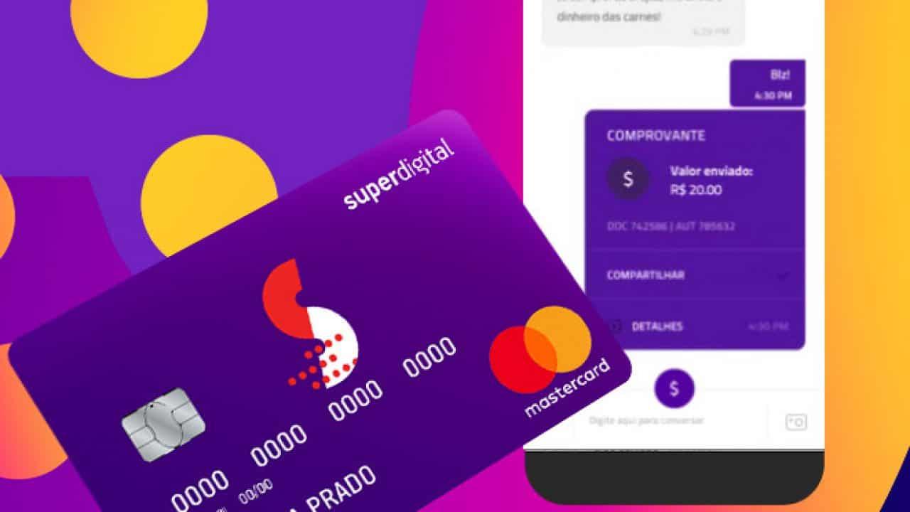 Cartão de crédito pré-pago Superdigital oferece serviço voltado para consumidores negativados