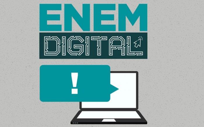 Enem Digital: 100 mil pessoas farão primeira edição da prova totalmente online